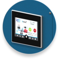 KTC KME C PLUS touchscreen with Ktronic100